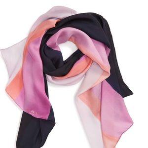 NWT Ted Baker Marina Mosaic stripe silk scarf